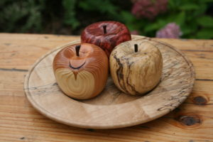 second nature wood turned pples
