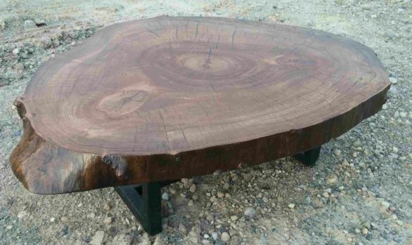 Ipe cookie coffee table